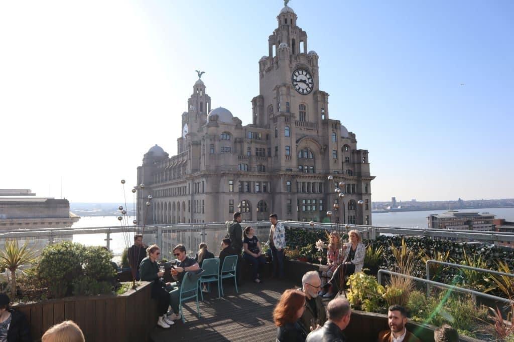 bar rooftop liverpool