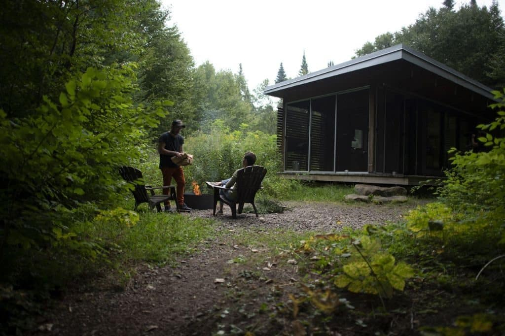 chalet nature quebec