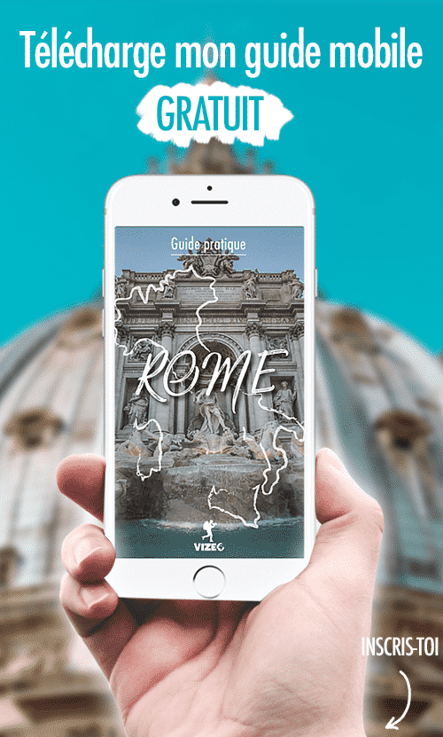 inscription guide rome gratuit version mobile