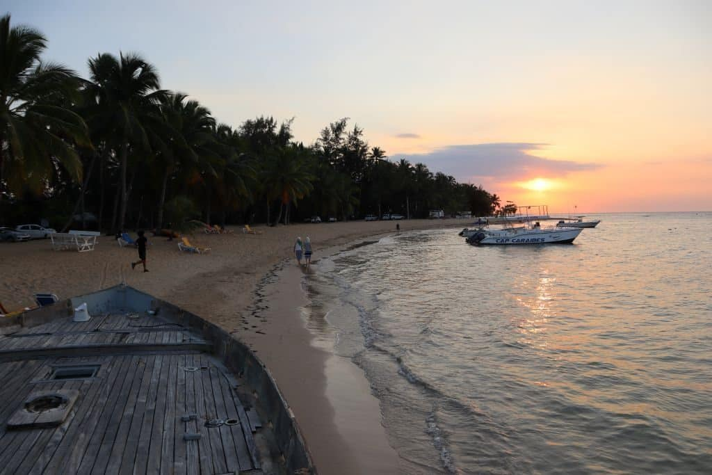 plage las terrenas republique dominicaine