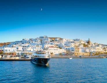 location bateau mykonos