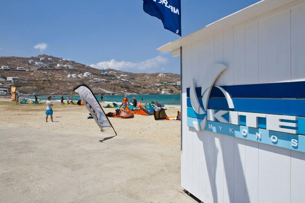 location mykonos kite surf