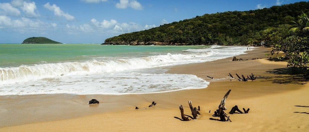 plage guadeloupe
