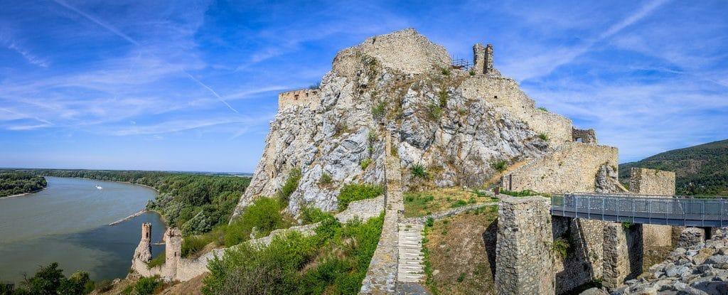 bratislava chateau devin ruines