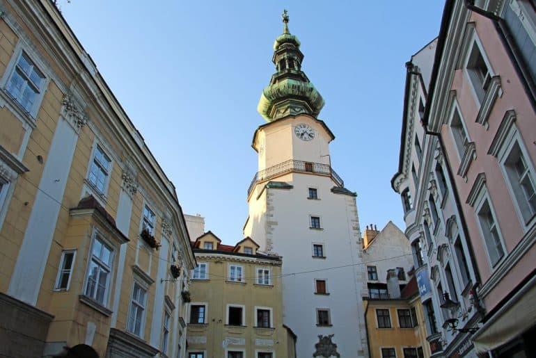 tourisme bratislava porte saint michel