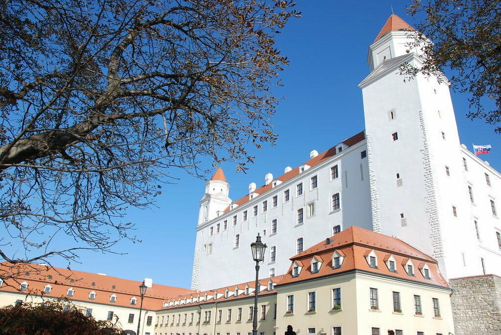 visiter bratislava chateau slovaquie