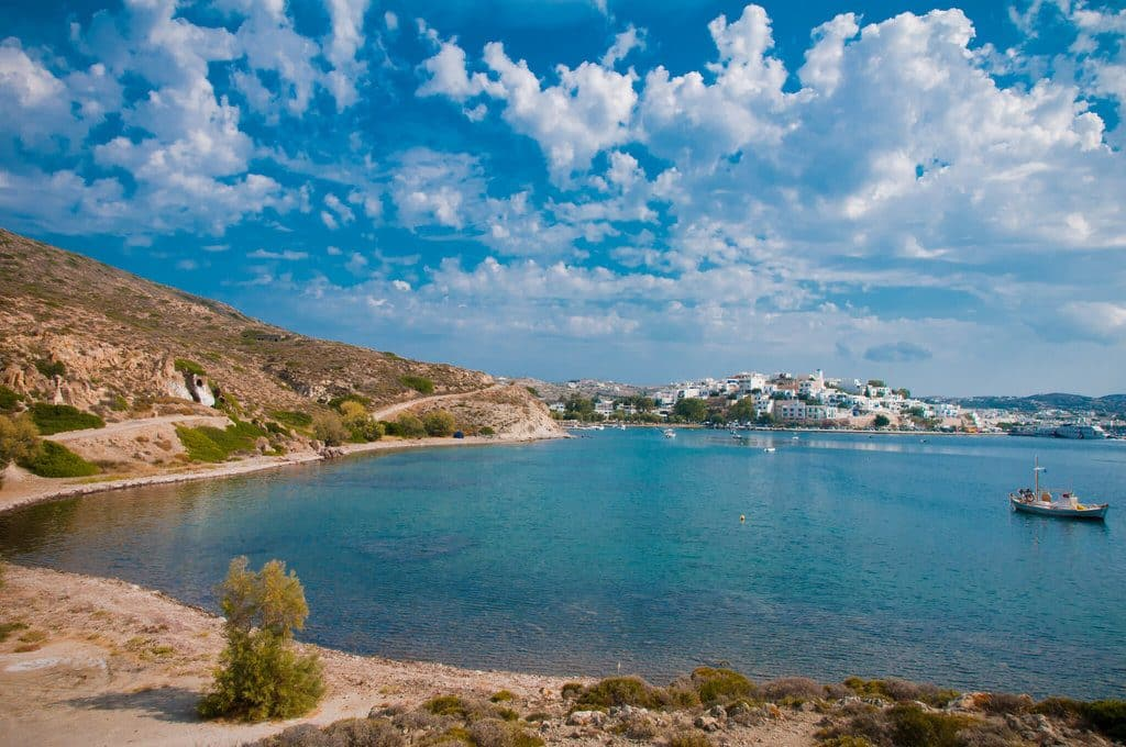 milos plage grece