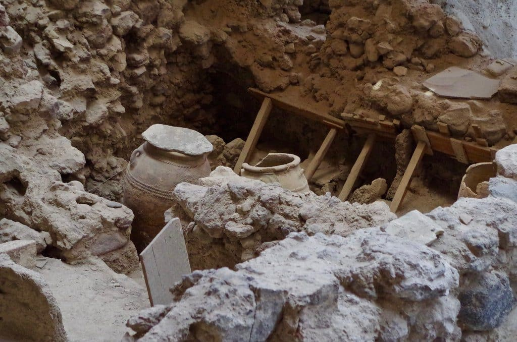 ruine santorin akrotiri