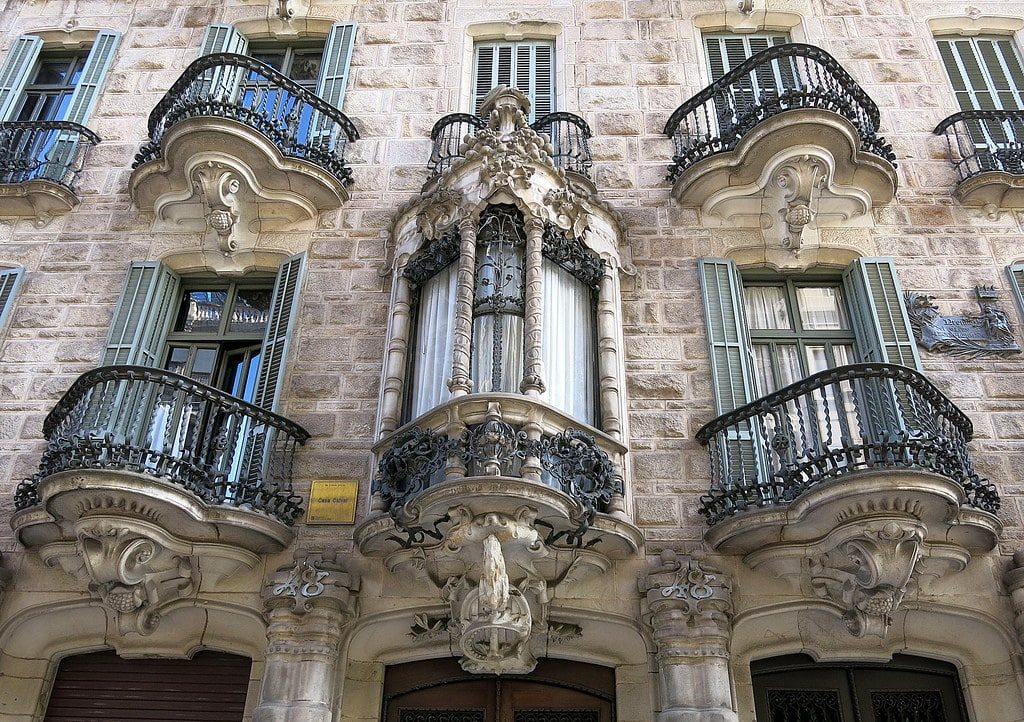 casa calvet barcelone gaudi
