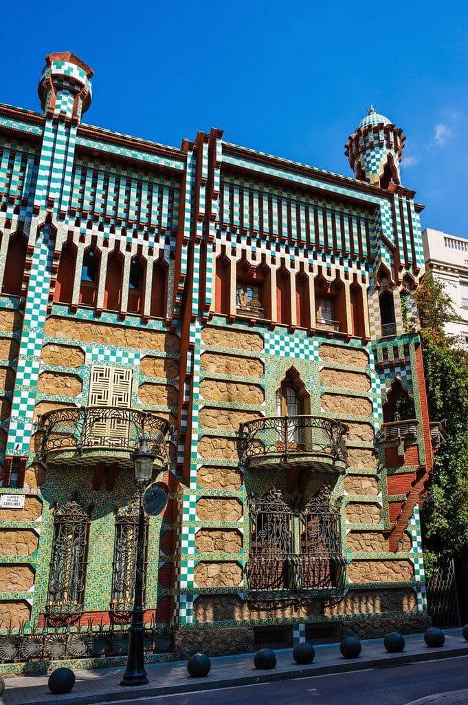 casa vicens barcelone gaudi