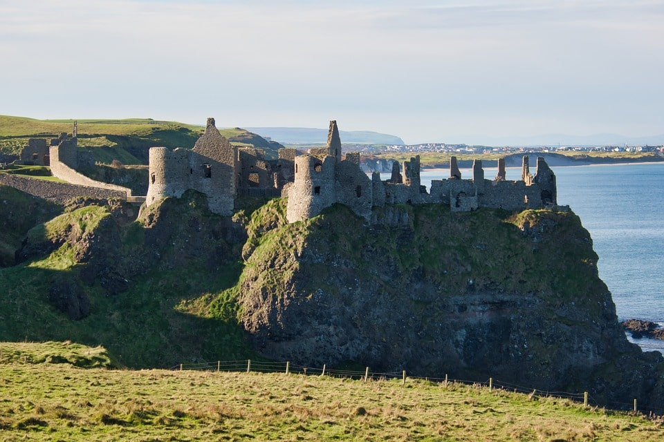 chateau dunluce visite dublin irlande nord game of thrones