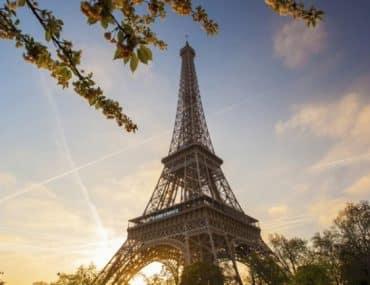 Tour Eiffel paris vue