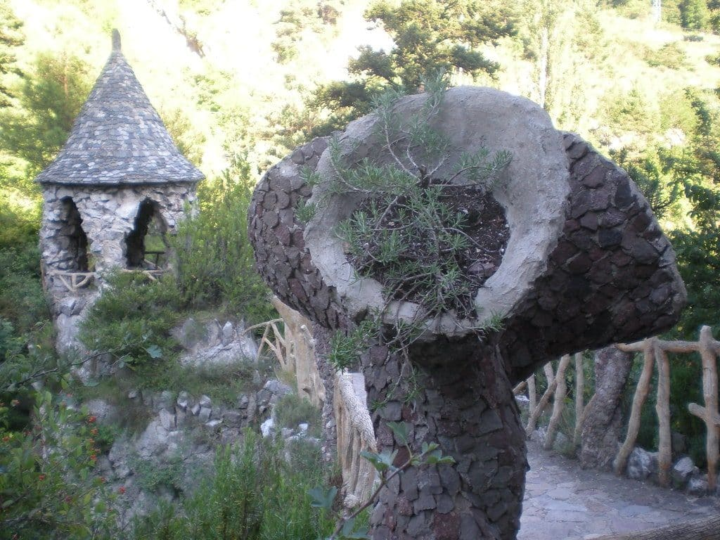 Jardins Artigas barcelone gaudi