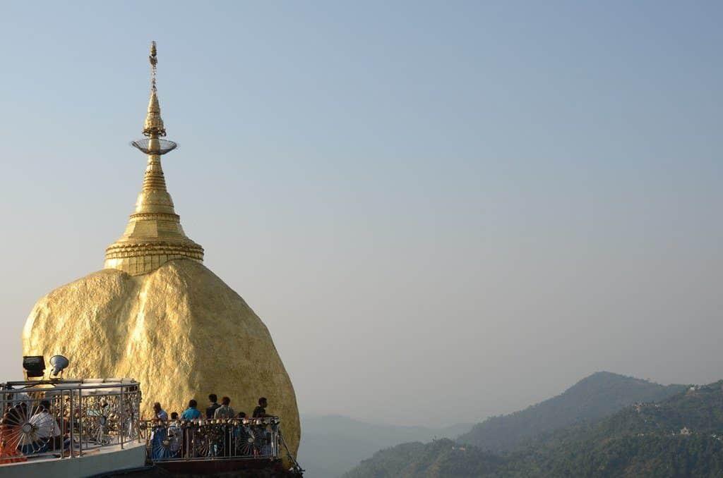 visite myanmar rocher or