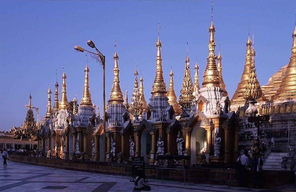 voyage birmanie pagode shwedagon
