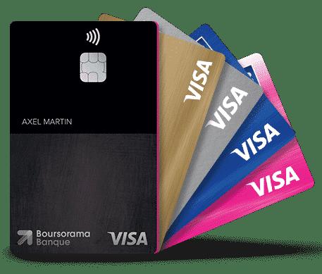 boursorama ULTIM cartes bancaires visa