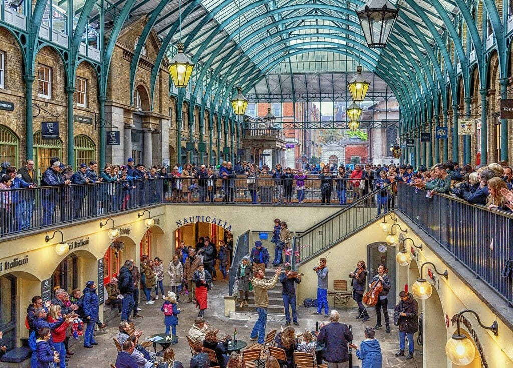 covent garden visiter londres