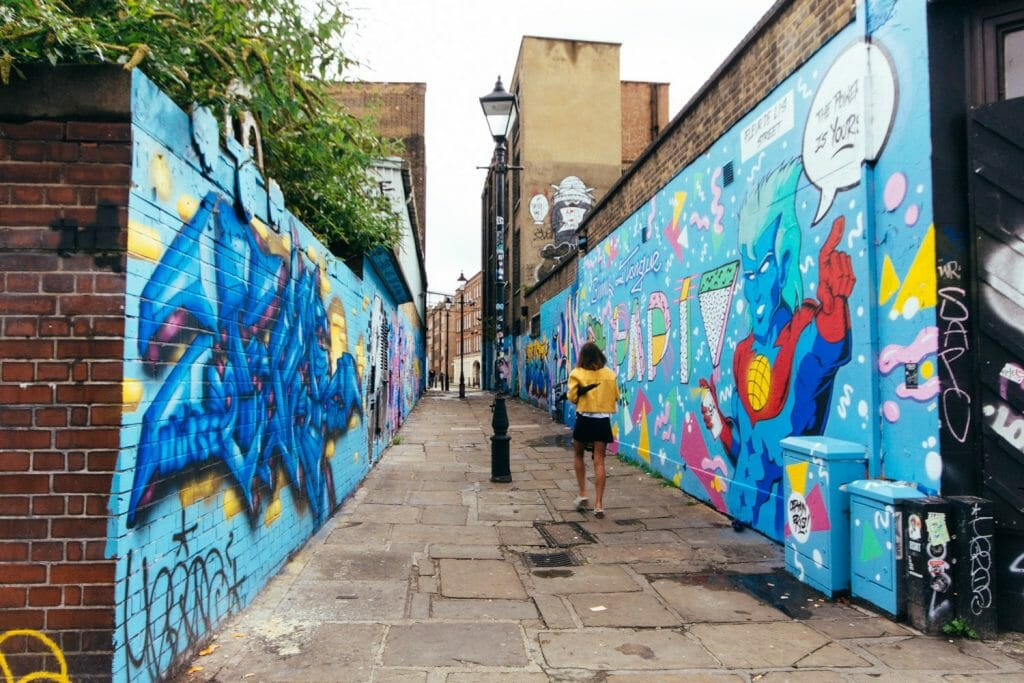 visite londres guide francais Shoreditch