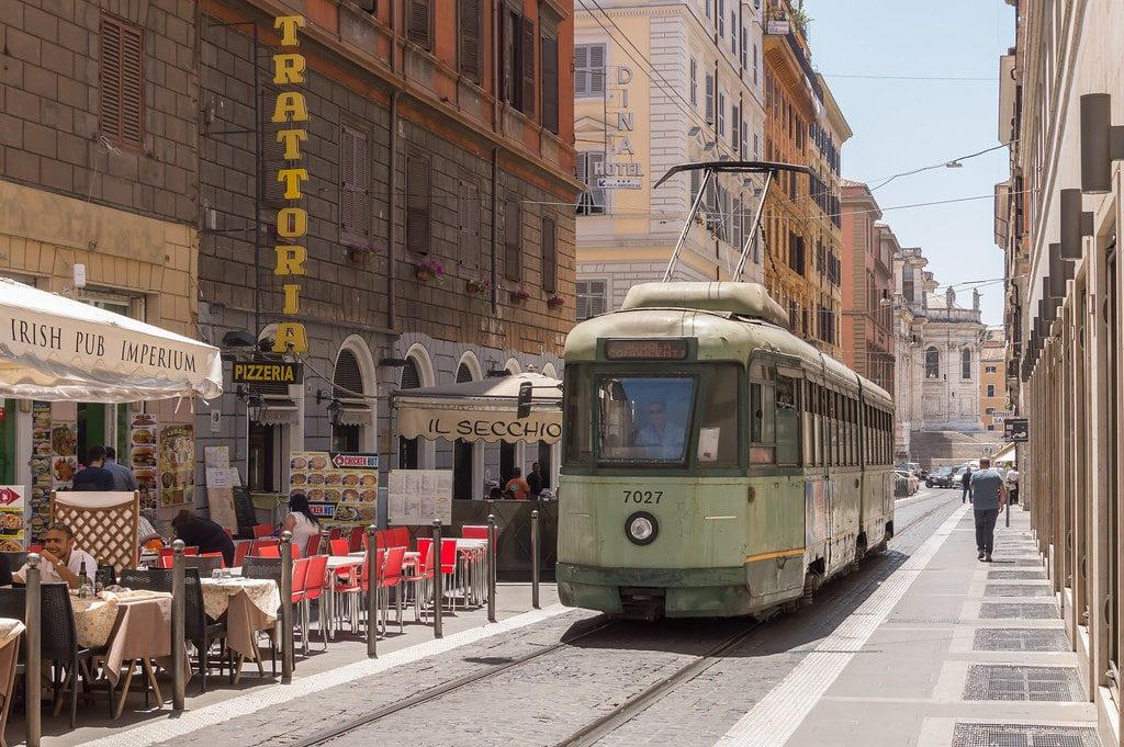 tram rome plan