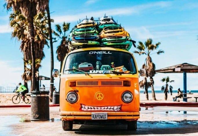 voyager portugal van camping