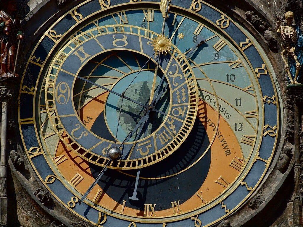 cercle zodiacale horloge astronomique prague