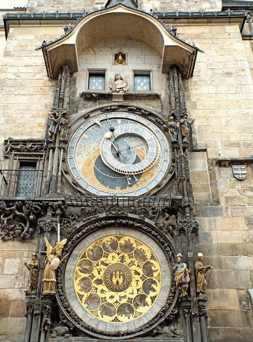 cadran astronomique horloge astronomique prague