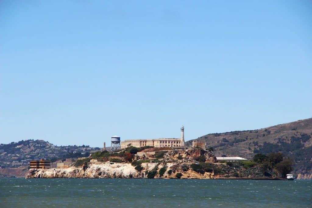 voyage en californie alcatraz island