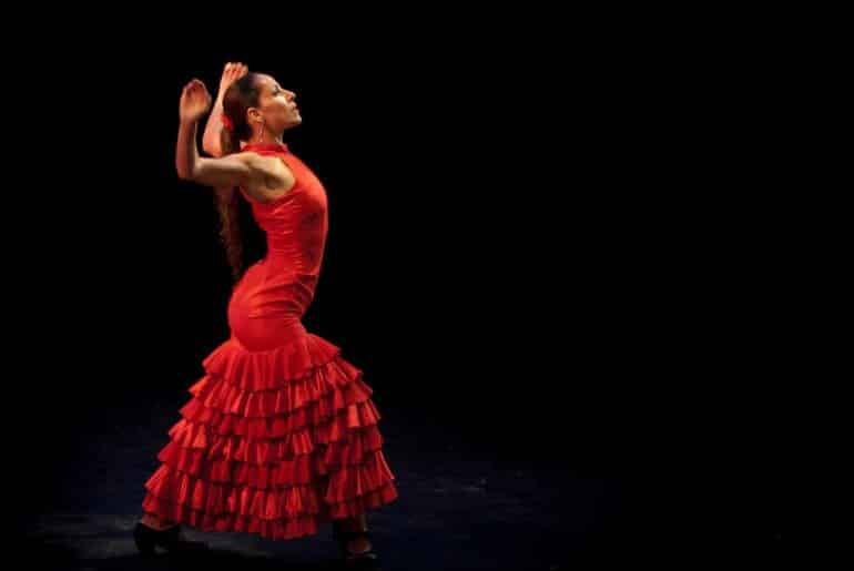 danseuse spectacle flamenco barcelone