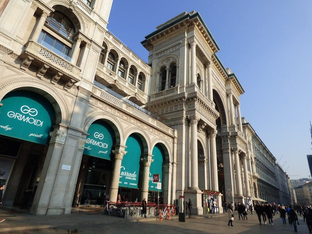 Galleria Vittorio Emmanuele II milan