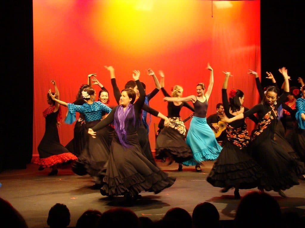 spectacle flamenco barcelone