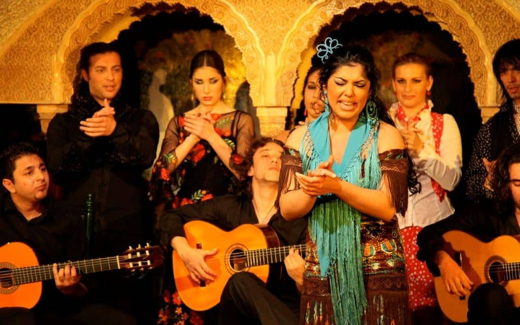 tablao spectacle flamenco barcelone