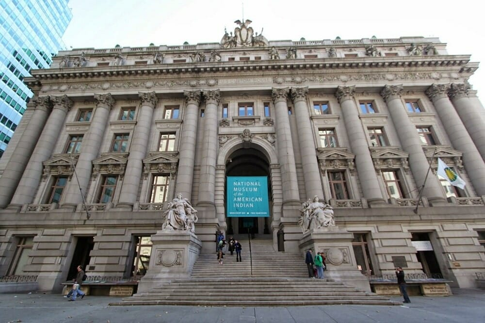 American Indian museum musée New York