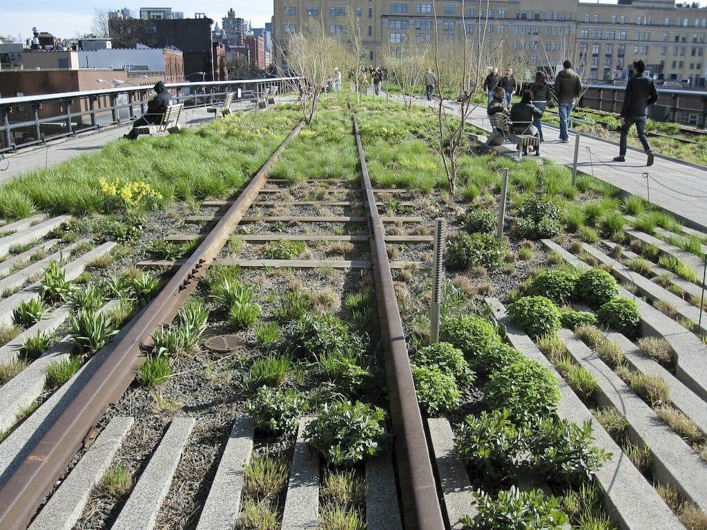 ancienne voie ferree high line