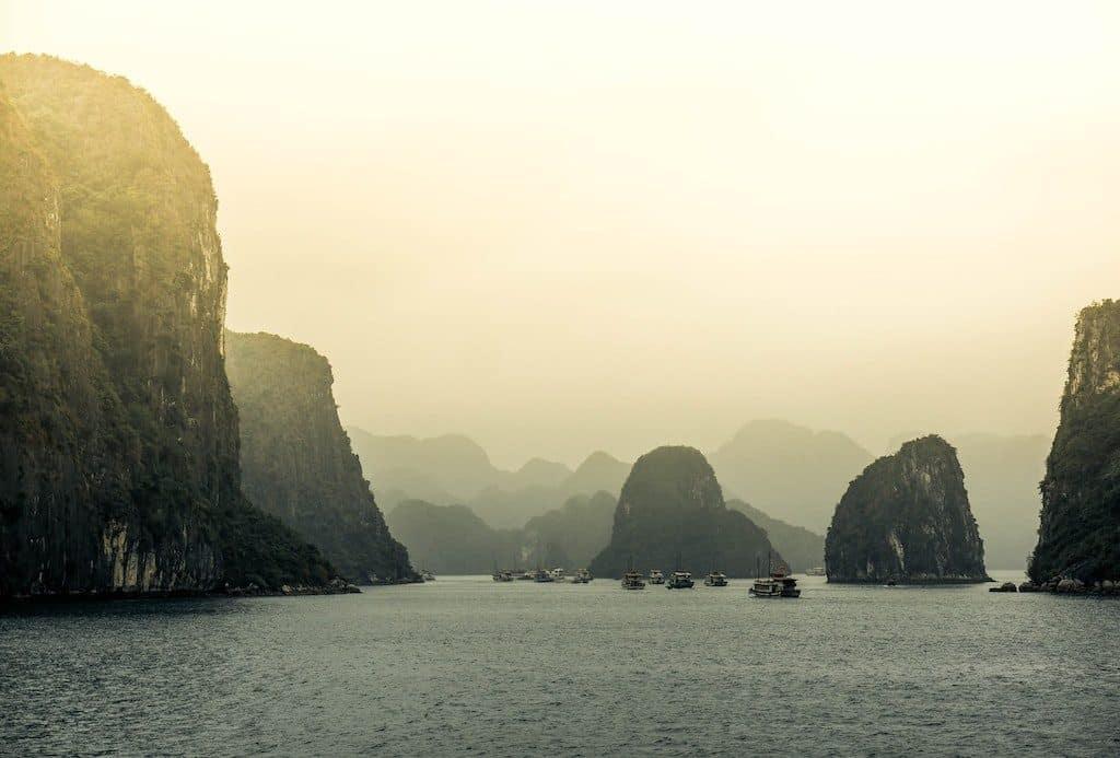 baie ha long 7 merveilles du monde