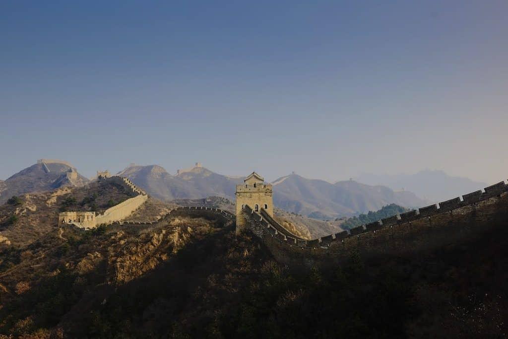grande muraille chine 7 merveilles du monde