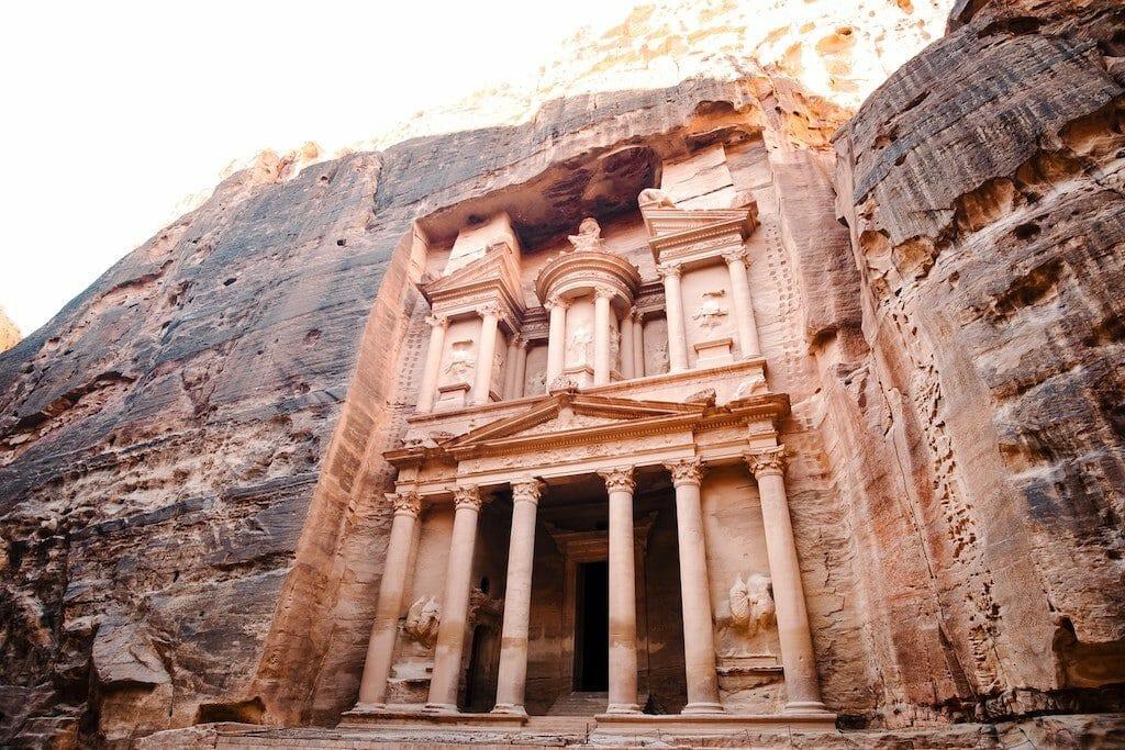 petra jordanie 7 merveilles du monde