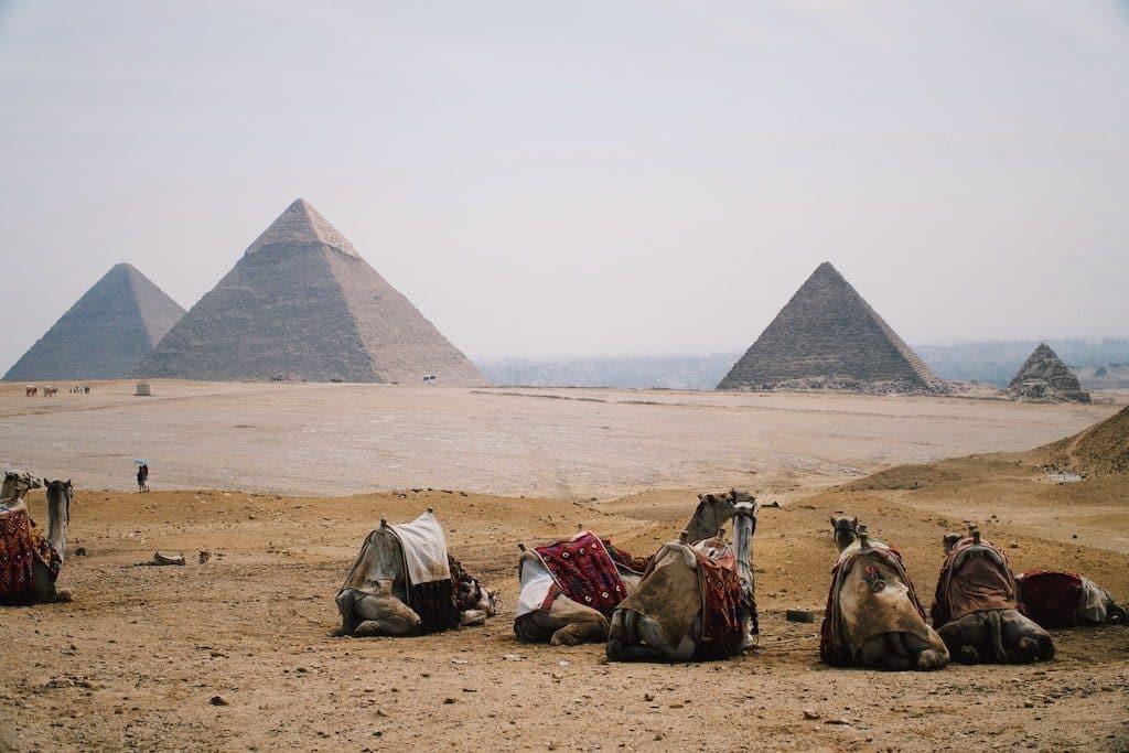 pyramide gizeh egypte 7 merveilles du monde