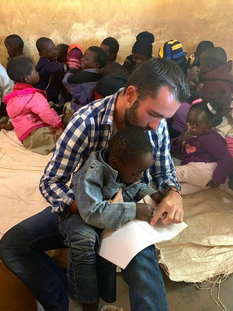 atelier ecriture zambie ecole benevolat afrique