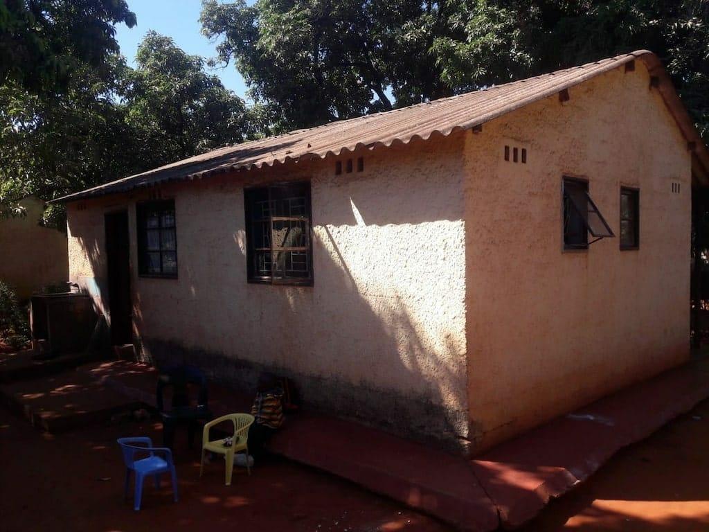 maisonnette cours zambie benevolat afrique