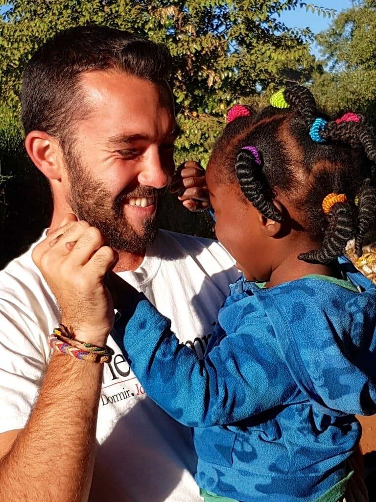partage amour zambie benevolat afrique