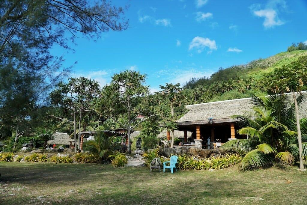 hebergement village vaitumu polynesie francaise