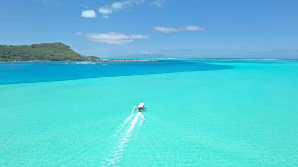 lagon bora bora polynesie francaise