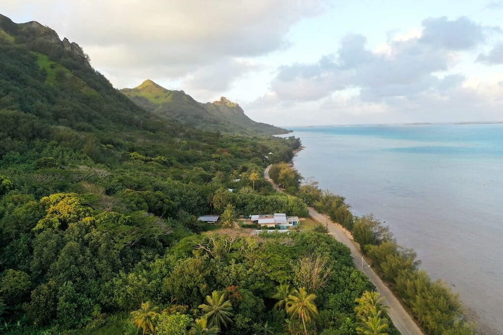 pension familiale ataha rurutu polynesie francaise
