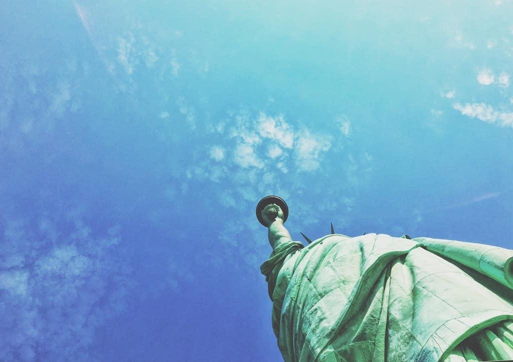 flamme statue liberté