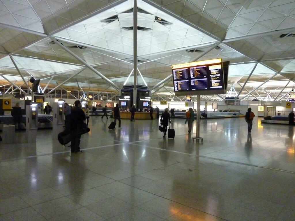 stansted transfert aeroport londres