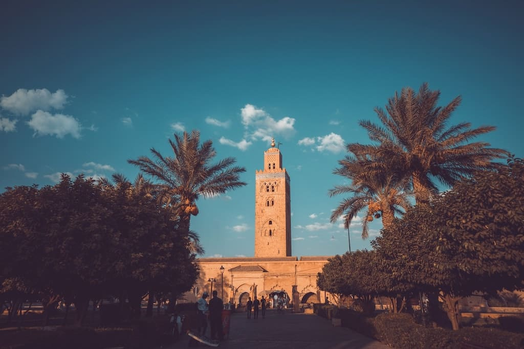 mosquee koutoubia visiter marrakech, place jemaa el fna maroc, Visit Marrakech, Visit Marrakech in 4 days, the 17 activities not to be missed