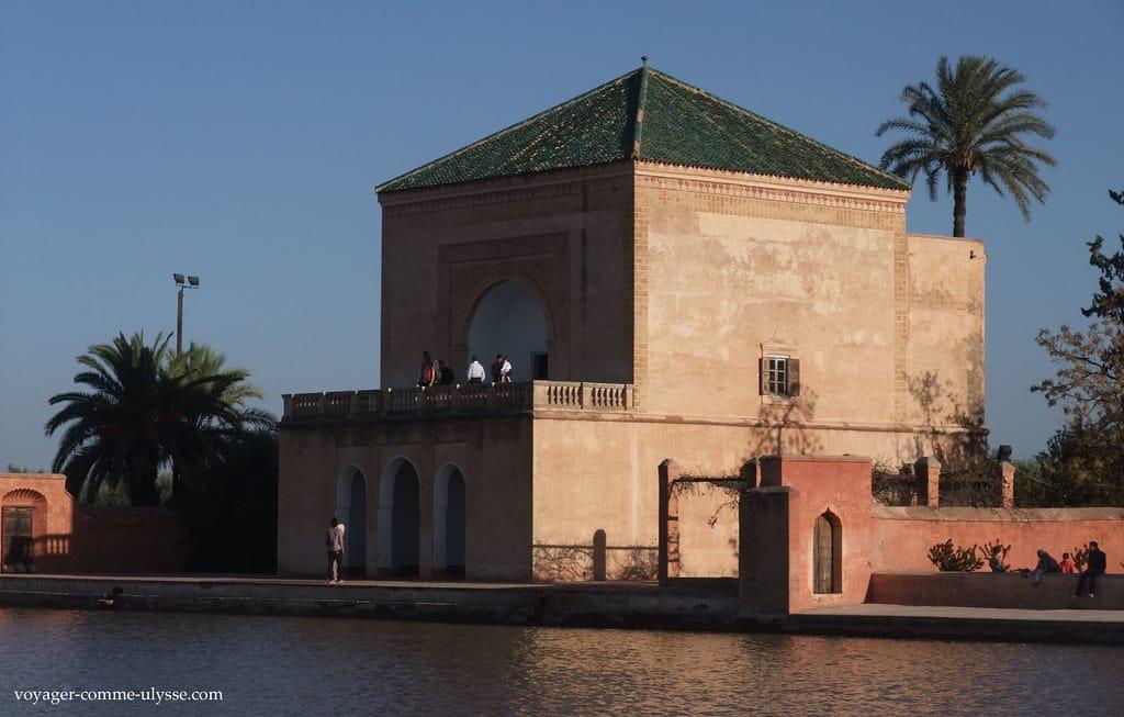 bassin jardin menera decouvrir marrakech
