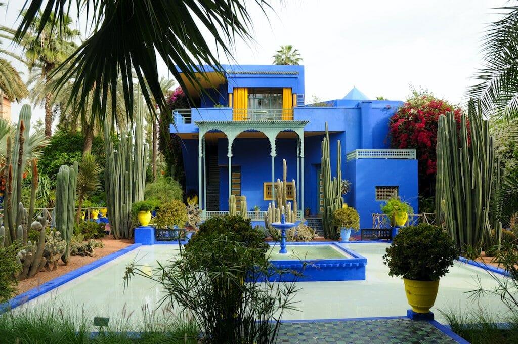 jardin majorelle visiter marrakech