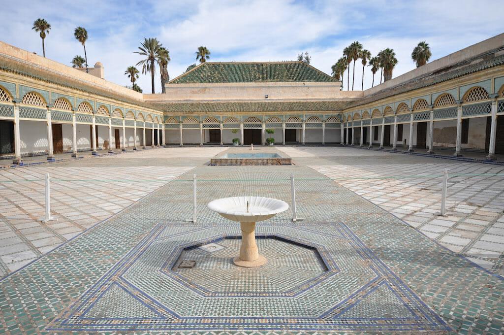 palais bahia visiter marrakech