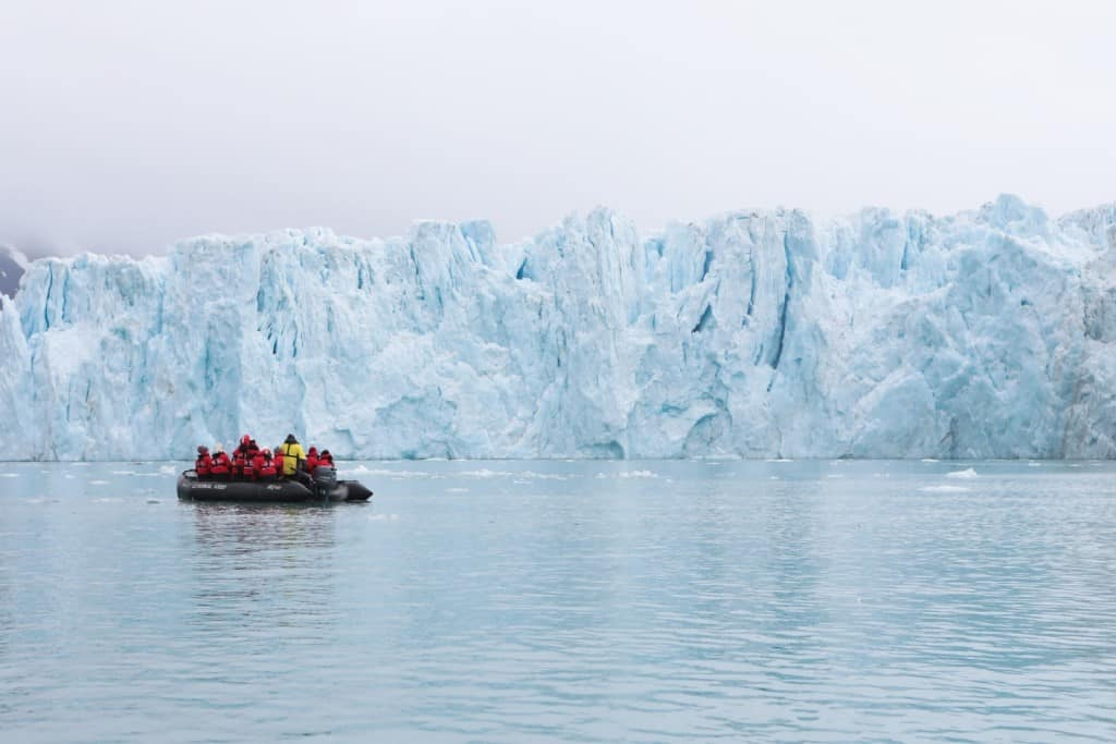 croisiere islande glacier
